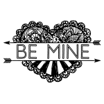 BE MINE CHALK TRANSFER