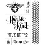 BEE HUMBLE AND KIND CHALK TRANSFER