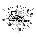 COFFEE O' CLOCK CHALK TRANSFER