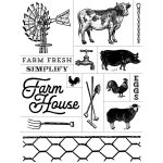 FARM HOUSE CHALK TRANSFER