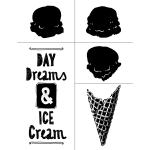 ICE CREAM CHALK TRANSFER