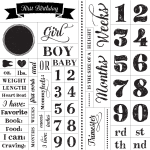 PREGNANCY AND BABY MILESTONES CHALK TRANSFER