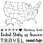 TRAVEL MAP CHALK TRANSFER