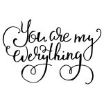 YOU ARE MY EVERYTHING CHALK TRANSFER