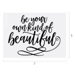 BE YOUR BEAUTIFUL CHALK TRANSFER