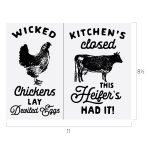 WICKED CHICKENS CHALK TRANSFER