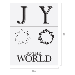 JOY TO THE WORLD CHALK TRANSFER