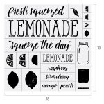 LEMONADE CHALK TRANSFER