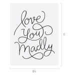 LOVE YOU MADLY CHALK TRANSFER