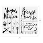 MAMA'S KITCHEN CHALK TRANSFER