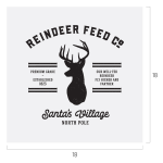 REINDEER FEED COMPANY CHALK TRANSFER
