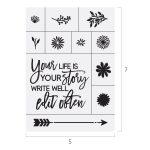 YOUR LIFE YOUR STORY CHALK TRANSFER