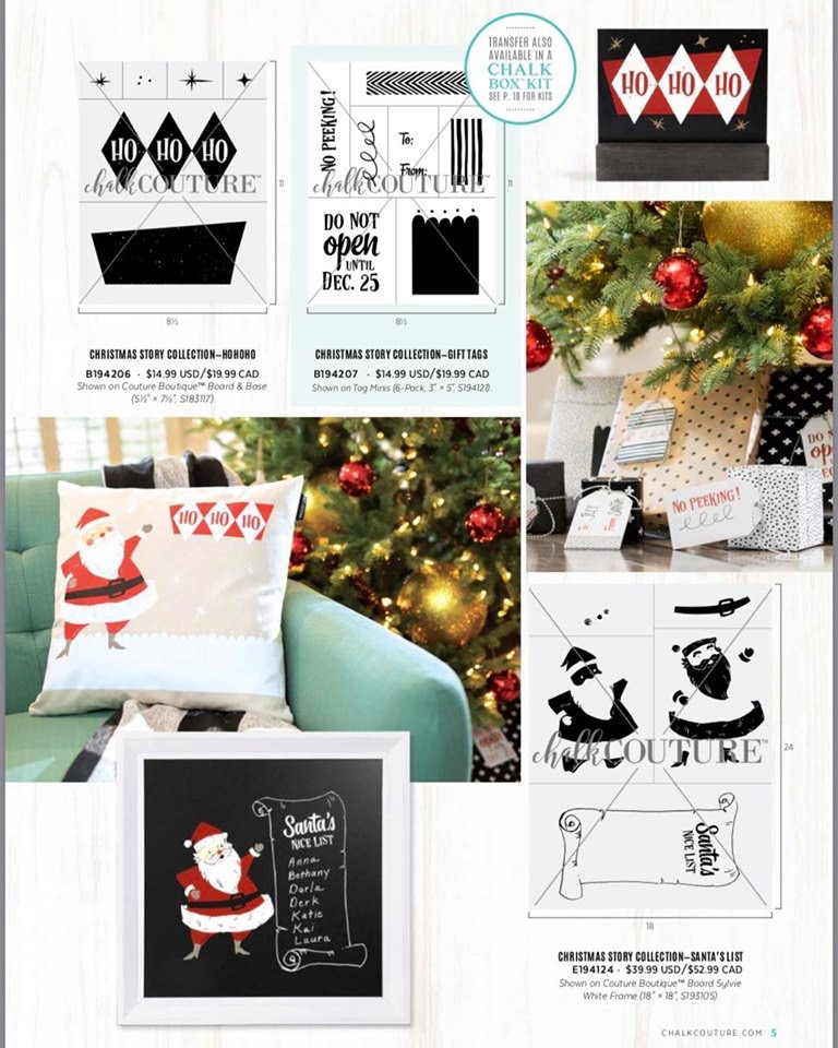 Chalk Couture Christmas Story Collection