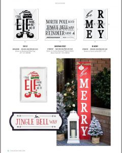 Chalk Couture Be Merry Porch Sign