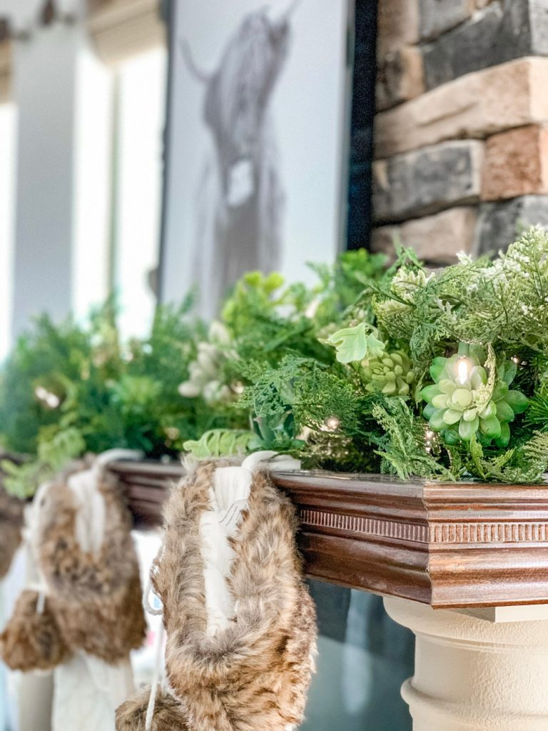 Balsam Hill Winter Succulent Garland