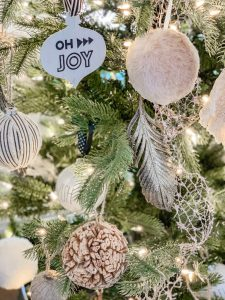 Boho Feather Ornaments
