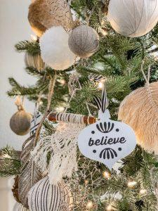 Boho Macrame Ornaments